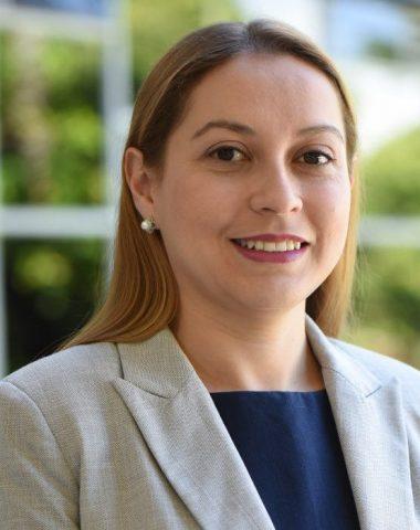 Investigadora Gabriela